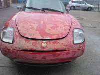 Fiat Barchetta front view with damage repaired